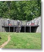 Canons At Fort Loudon Metal Print by Regina McLeroy