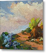 Canterbury Bells Joshua Tree Metal Print