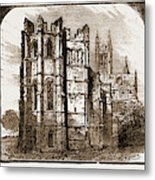 Canterbury, Uk, 1883 The Dark Entry, Beckets Crown Metal Print