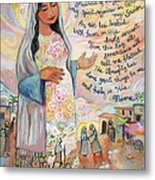 Canticle of Mary Metal Print
