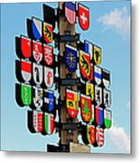 Canton Tree Metal Print