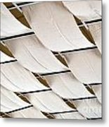Canvas Ceiling Detail Metal Print