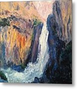 Canyon Blues Metal Print