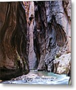 Canyon Color Metal Print