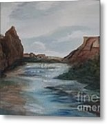 Canyon De Chelly Metal Print