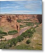 Canyon De Chelly Overview Metal Print