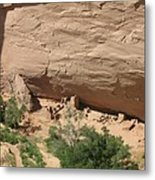 Canyon De Chelly Ruins Metal Print