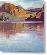 Canyon Lake Of Arizona Metal Print