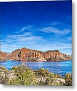 Canyon Lake Panorama Metal Print