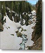 Canyon Scenery Metal Print