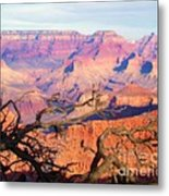 Canyon Shadows Metal Print by Janice Sakry