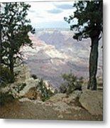 Canyon Side View Metal Print