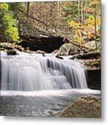 Canyon Waterfall-artistic Metal Print