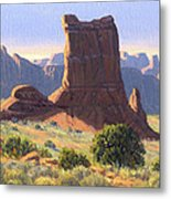 Canyonlands Metal Print by Randy Follis