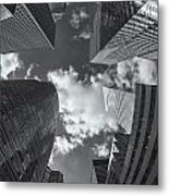 Canyons Of New York II Metal Print