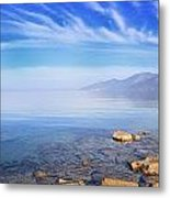 Cap Corse Under An Azure Sky Metal Print