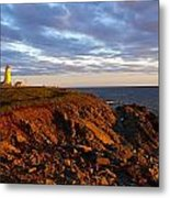 Cape Anguille Lighthouse Metal Print