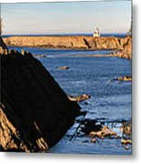 Cape Arago Lighthouse 2 Metal Print