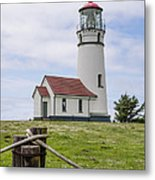Cape Blanco Lighthouse Metal Print