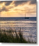 Cape Cod Bay Square Metal Print