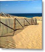 Cape Cod Beach Metal Print
