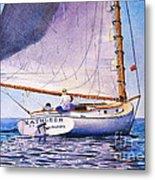 Cape Cod Catboat Metal Print