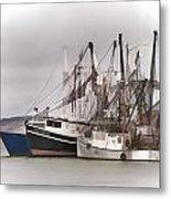 Cape Cod Fishing Boats Metal Print