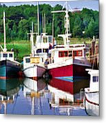 Cape Cod Harbor  Metal Print