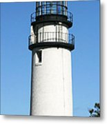 Cape Cod Highland Lighthouse Metal Print by Michelle Wiarda
