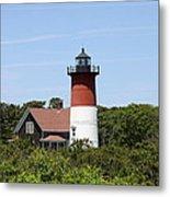 Cape Cod - Nauset Lighthouse - Ma Metal Print