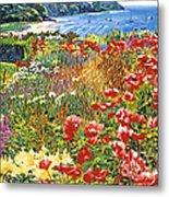 Cape Cod Ocean Garden Metal Print