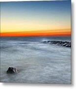 Cape Cod Sunrise Metal Print by Bill Wakeley