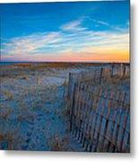 Cape Cod Sunset Metal Print