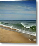 Cape Cod Waves Metal Print