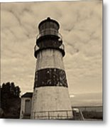 Cape Disappointment Lighthouse 2 Metal Print