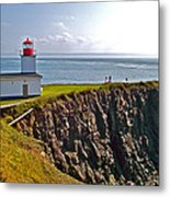 Cape D'or Lighthouse-ns Metal Print