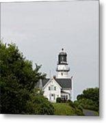 Cape Elizabeth Light I Metal Print
