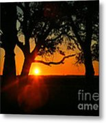 Cape Fear Sunset Metal Print