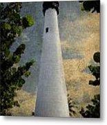 Cape Florida Lighthouse 1 Metal Print