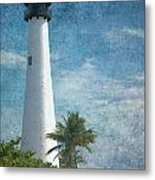 Cape Florida Lighthouse 2 Metal Print
