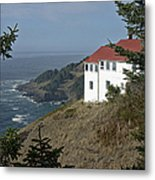 Cape Foulweather Lookout Metal Print