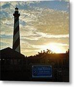 Cape Hatteras Lighthouse 1 11/05 Metal Print