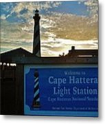 Cape Hatteras Lighthouse 2 11/05 Metal Print