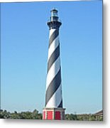 Cape Hatteras Lighthouse - Outer Banks Nc Metal Print