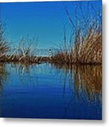 Cape Hatteras Lighthouse Water Reflection 2 3/01 Metal Print