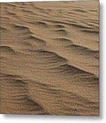 Cape Hatteras Ripples In The Sand-north Carolina Metal Print