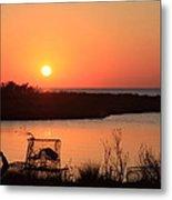 Cape Hatteras Sunset-north Carolina Metal Print