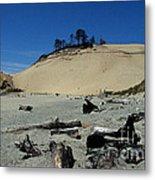 Cape Kiwanda Sand Dune Metal Print