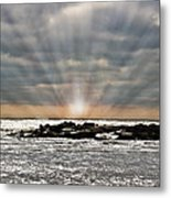 Cape May After The Storm Metal Print