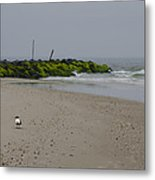 Cape May Beach Metal Print